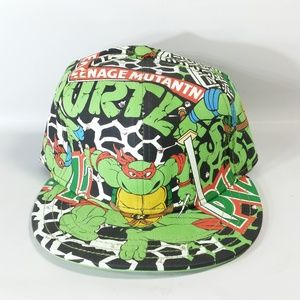 TMNT Cap Hat Fitted Bedazzled Bejeweled Aflex NWOT